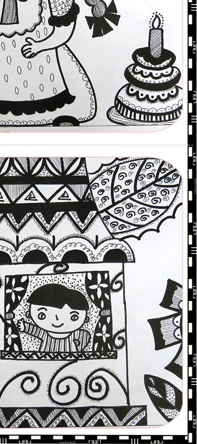 全3册少儿美术新编儿童绘画入门教程少儿线描画人物动物风景篇 零基础