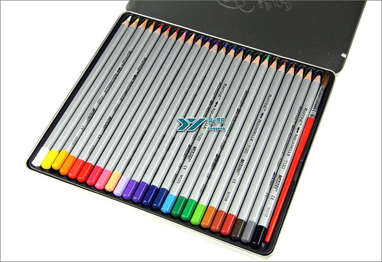 彩色铅笔手绘花园
