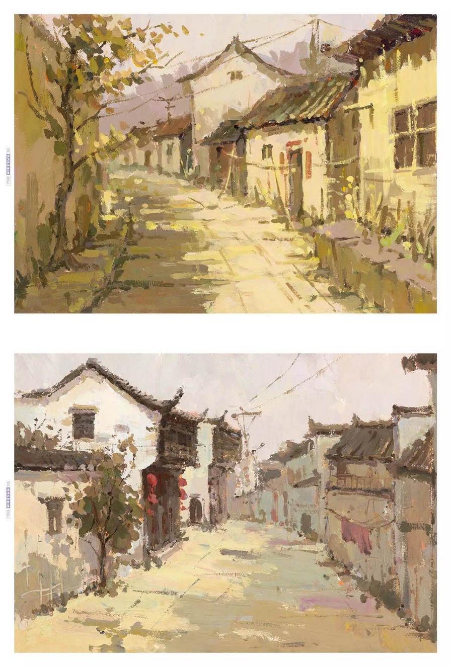 2017鼓励教学 杭州风景第2季 黄家荣国美水粉风景高考正版1.6