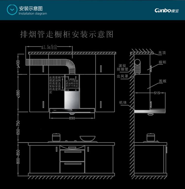 美的 抽油烟机dt26s 电源板yal07电路图