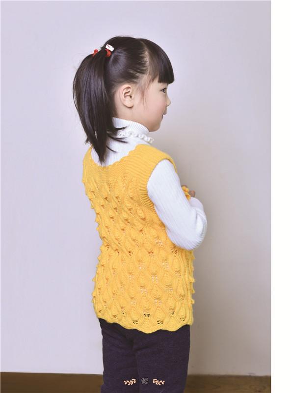 手工/diy 毛线编织/绳编 5~8岁儿童手织毛衣精品集 钩针编织书 毛衣