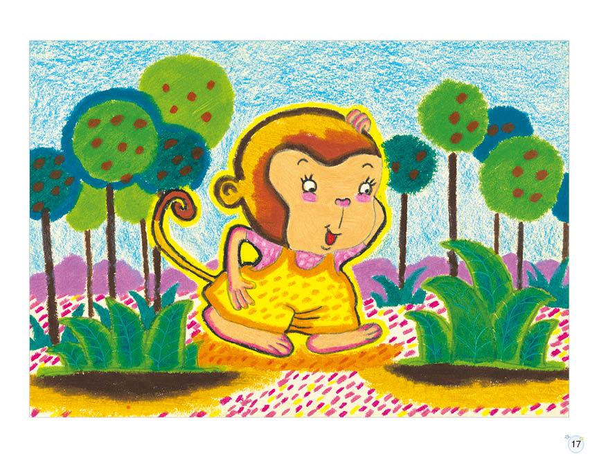 正版全2册名师零距离创意油画棒儿童艺术启蒙教学丛书新编少儿美术