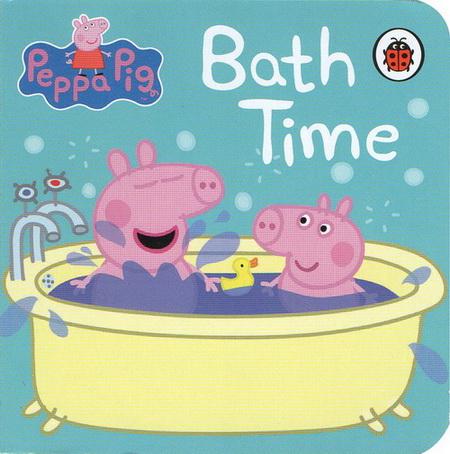 英文原版 小猪佩佩奇 peppa pig bedtime little library 粉红猪小妹