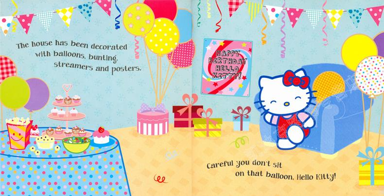 生日快乐 幼儿童英语启蒙阅读教材绘本