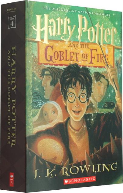 英文原版 哈利波特与火焰杯 harry potter and the goblet of fire j.