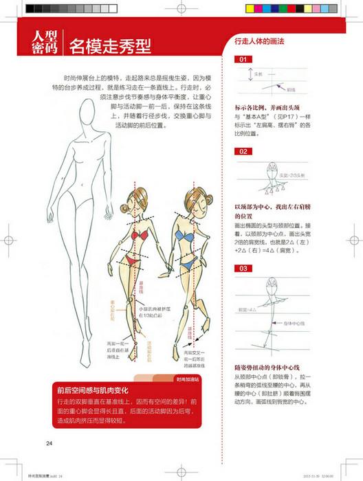 手绘表现技法教程(马克笔 彩铅 水彩)自学入门书籍款式创意效果服装画