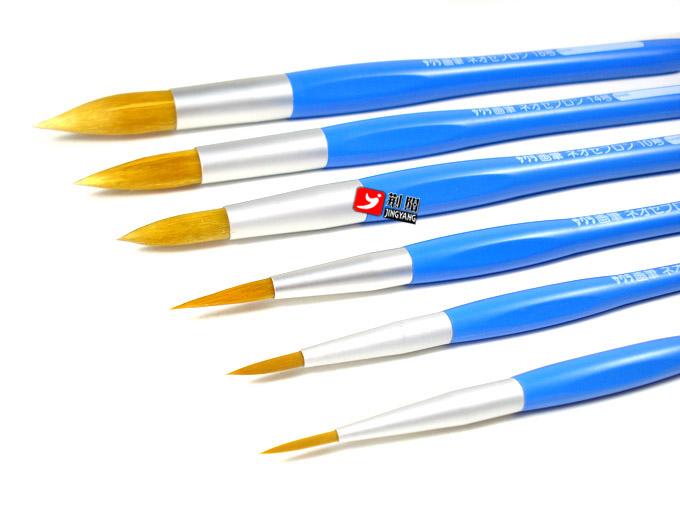 水粉画笔和水彩画笔的区别是 如何挑选到好的画笔呢
