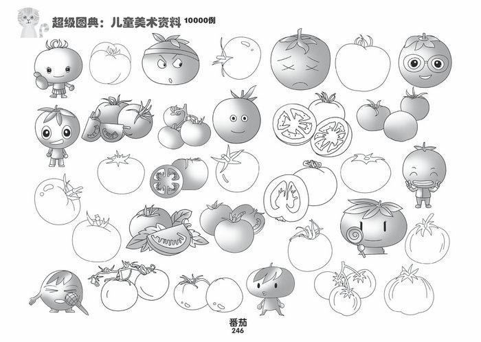 涵盖全门类简笔画图案,包括人物,动物,植物,交通,职业等若干的图形