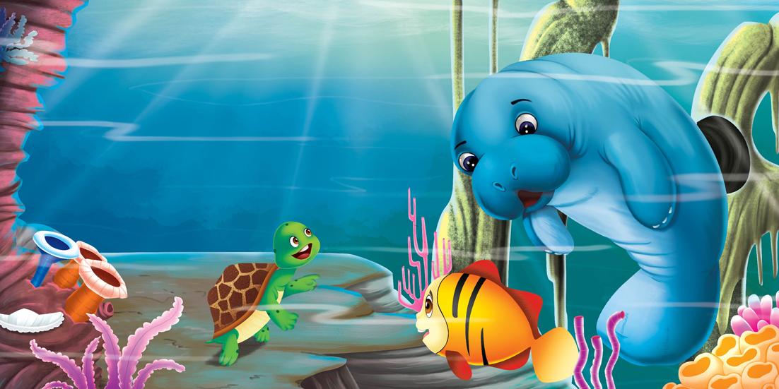 海洋小动物历险记——为什么我长这么大 (印) 沙姆布哈维