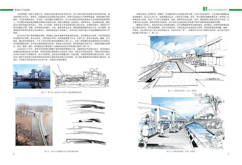 正版书籍· 景观设计手绘表现 放心购买,如有咨询联系客服