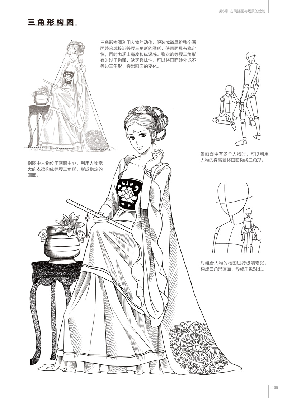 清朝服饰造型 1185.3